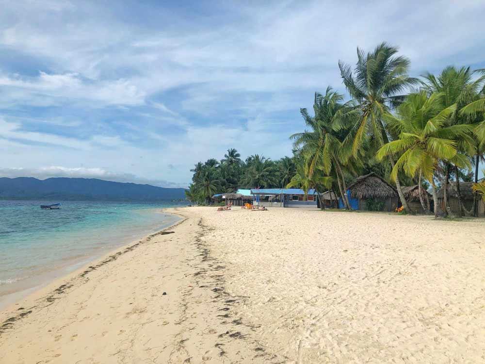 Pláž na San Blas